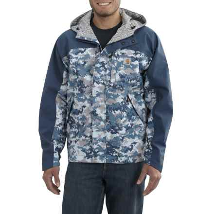 Carhartt Shoreline Vapor Jacket - Waterproof, Factory Seconds (For Men) in Dark Blue Digi Camo - 2nds