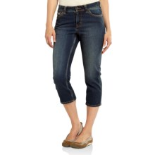Carhartt Sibley Denim Crop Pants (For Women) in Authentic Indigo - 2nds