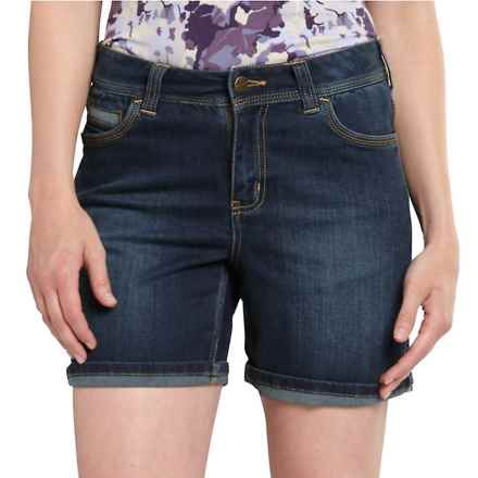 Carhartt Sibley Jean Shorts - Original Fit, Factory Seconds (For Women) in True Blue Indigo - 2nds