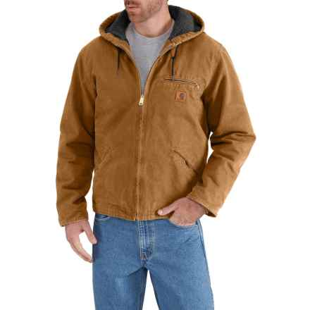 10c9e0c8 Carhartt Sierra Jacket - Factory Seconds (For Big and Tall Men) in Carhartt  Brown