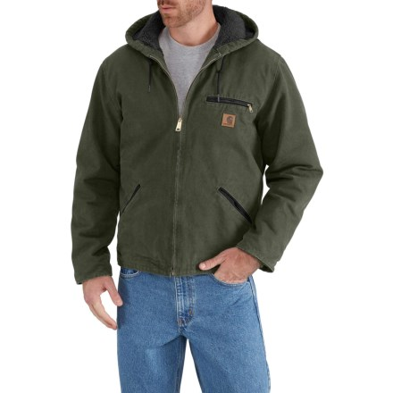 5810706890 Carhartt Sierra Jacket - Sherpa-Lined, Factory Seconds (For Big and Tall Men