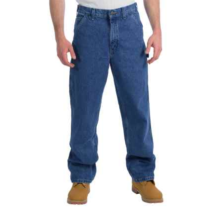 Carhartt Signature Work Dungaree Jeans - Factory Seconds (For Men) in Dark Stone Wash - 2nds