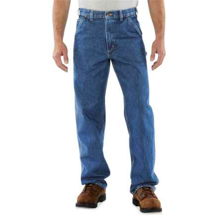 Carhartt Signature Work Dungaree Jeans - Factory Seconds (For Men) in Darkstone - 2nds