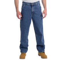 Carhartt Signature Work Dungaree Jeans (For Men) in Stone Wash - 2nds