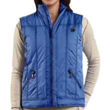 Carhartt Skyline Vest - Insulated (For Women) in French Blue - 2nds