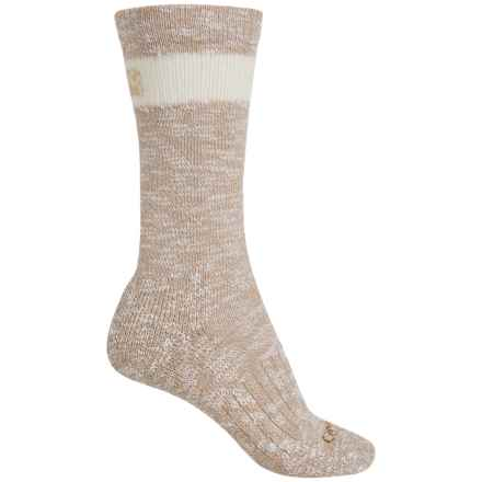 Carhartt Slub Hiker Socks - Merino Wool, Crew (For Women) in Khaki - Closeouts