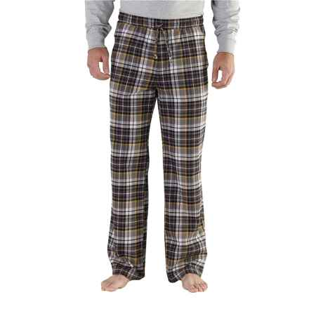 Carhartt Snowbank Brushed Flannel Pants - Factory Seconds, (For Men) in Shadow - 2nds