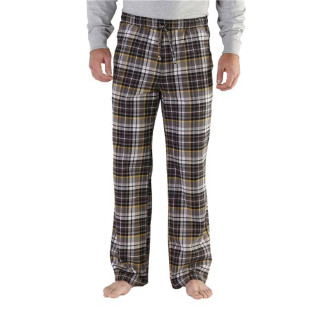 Carhartt Snowbank Brushed Flannel Pants - Factory Seconds, (For Men)