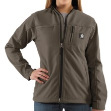 Carhartt Soft Shell Jacket (For Women) in Shale Brown - 2nds