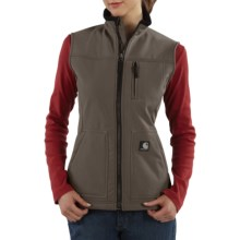 Carhartt Soft Shell Vest (For Women) in Shale Brown - 2nds