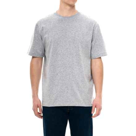 Carhartt Solid Cotton-Blend T-Shirt - Short Sleeve, Factory Seconds (For Men) in Heather Gray - 2nds