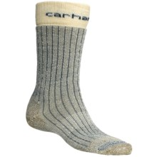 Carhartt Steel Toe Arctic Wool Boot Socks - Heavyweight (For Men) in Navy - 2nds