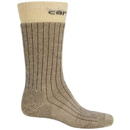 Carhartt Steel Toe Arctic Wool Boot Socks - Mid Calf (For Men) in Brown - Closeouts