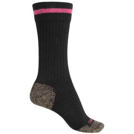 Carhartt Steel Toe Socks - Crew (For Women) in Black - Closeouts