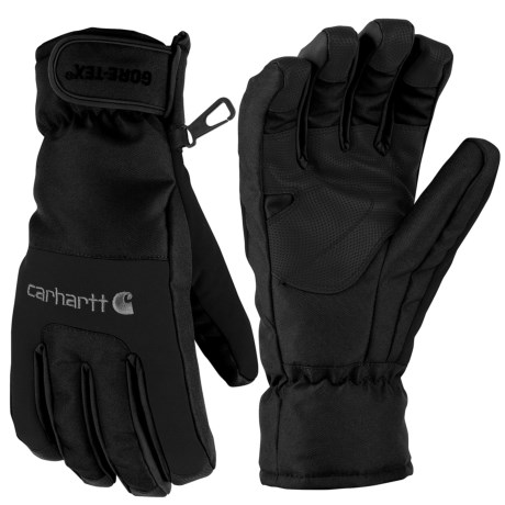 Carhartt Storm Gore-Tex® Gloves - Waterproof, Insulated (For Men) in Black