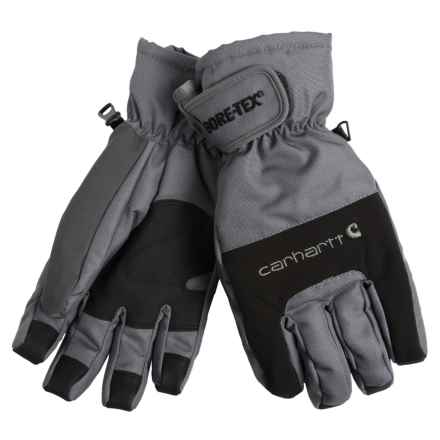 Carhartt Storm Gore-Tex® Gloves - Waterproof, Insulated (For Men) in Grey - Closeouts
