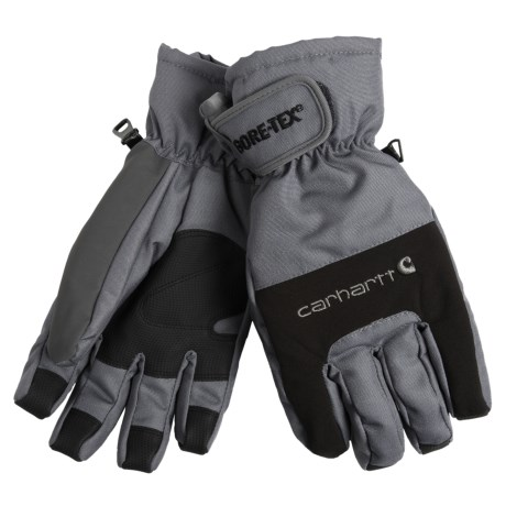 Carhartt Storm Gore-Tex® Gloves - Waterproof, Insulated (For Men) in Grey