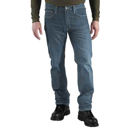 Carhartt Straight-Fit Denim Jeans - Straight Leg, Factory Seconds (For Men) in Worn In Blue - 2nds