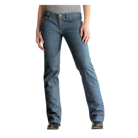 Carhartt Straight Leg Jeans - Modern Fit (For Women) in Worn