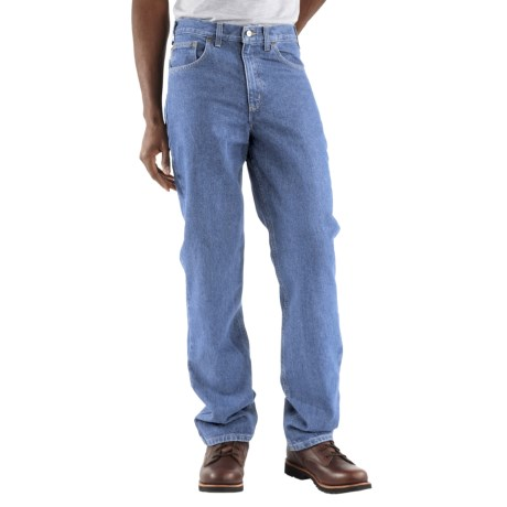 Carhartt Straight Leg Jeans - Traditional Fit, Factory Seconds (For Men) in Stone Wash