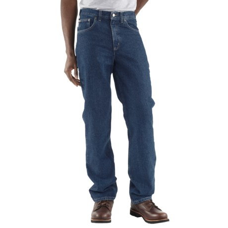 Carhartt Straight Leg Jeans - Traditional Fit (For Men) in Dark Stone Wash
