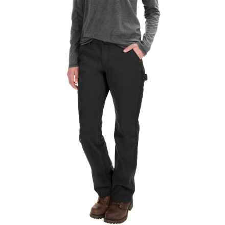 Carhartt Straughn Pants - Relaxed Fit, Straight Leg, Factory Seconds (For Women) in Black - 2nds