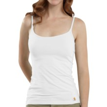 Carhartt Stretch Cami Tank Top - Cotton (For Women) in White - 2nds