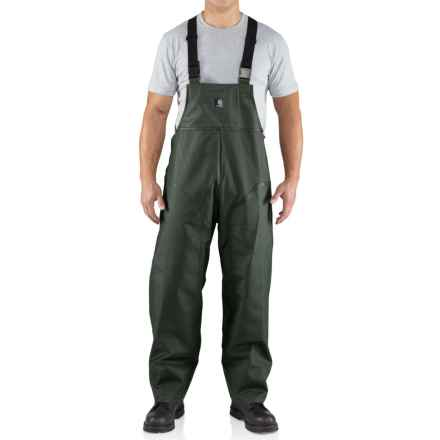Carhartt Surrey Rain Bib Overalls - Waterproof, Factory Seconds (For Men) in Green - 2nds