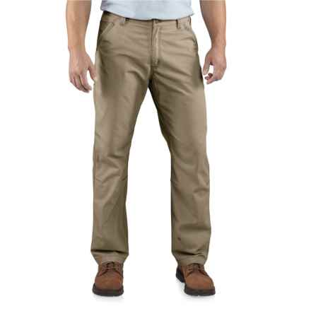 Carhartt Tacoma Ripstop Pants - Relaxed Fit (For Men) in Army Green - Closeouts