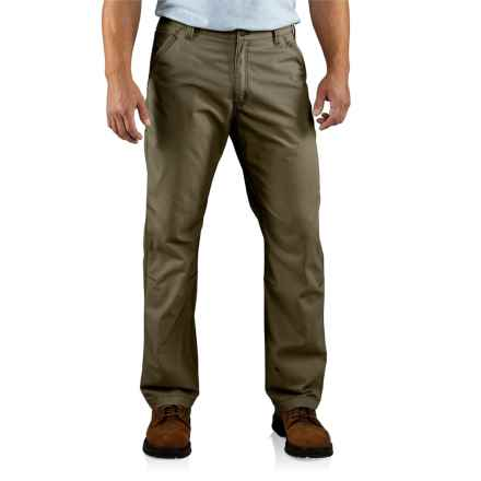 Carhartt Tacoma Ripstop Pants - Relaxed Fit (For Men) in Army Green - 2nds