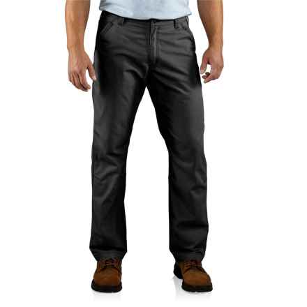 Carhartt Tacoma Ripstop Pants - Relaxed Fit (For Men) in Black - 2nds