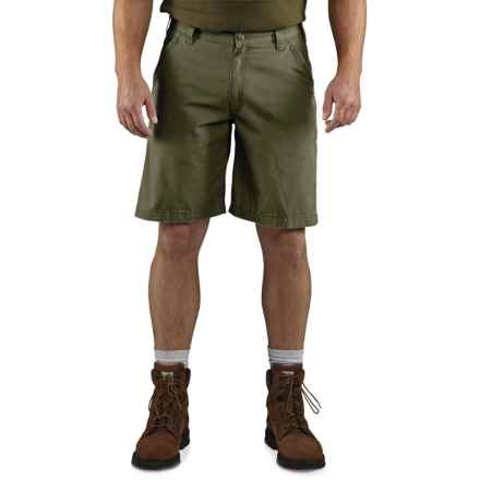 Carhartt Tacoma Ripstop Shorts - Factory Seconds (For Men) in Army Green - 2nds