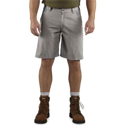 Carhartt Tacoma Ripstop Shorts - Factory Seconds (For Men) in Asphalt - 2nds