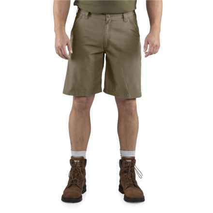 Carhartt Tacoma Ripstop Shorts - Relaxed Fit (For Men) in Army Green - Closeouts