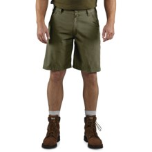 Carhartt Tacoma Ripstop Shorts - Relaxed Fit (For Men) in Army Green - 2nds