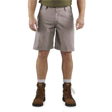 Carhartt Tacoma Ripstop Shorts - Relaxed Fit (For Men) in Asphalt - Closeouts