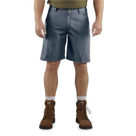 Carhartt Tacoma Ripstop Shorts - Relaxed Fit (For Men) in Bluestone - Closeouts