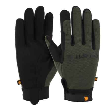 Carhartt The Fixer Gloves (For Men) in Army - Closeouts