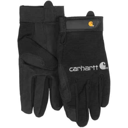 Carhartt The Fixer Gloves (For Men) in Black - Closeouts