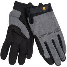 Carhartt The Fixer Gloves (For Men) in Grey - Closeouts