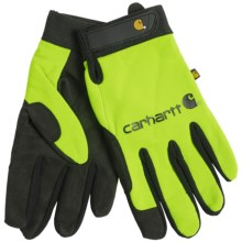 Carhartt The Fixer Gloves (For Men) in Visual Lime - Closeouts
