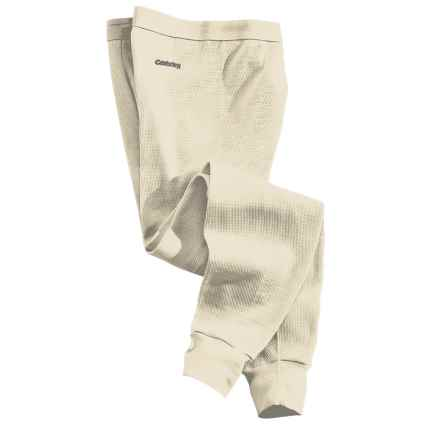 Carhartt Thermal Base Layer Bottoms - Heavyweight Cotton (For Men) in Natural - 2nds