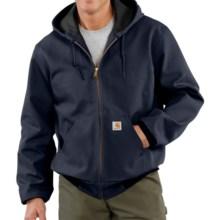 Carhartt Thermal-Lined Active Duck Jacket (For Big Men) in Dark Navy - 2nds