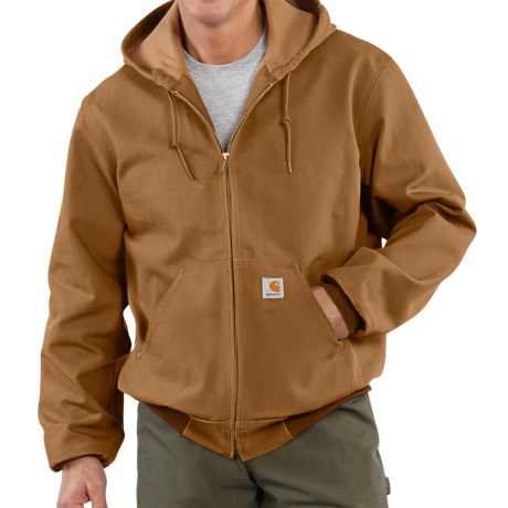 Carhartt Thermal Lined Active Duck Jacket Ring Spun Cotton (For Tall Men)