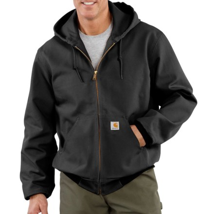608487df78e Carhartt Thermal-Lined Duck Active Jacket - Factory Seconds (For Big and Tall  Men