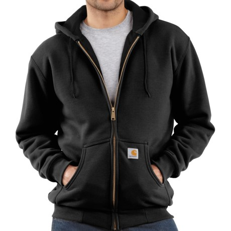 Carhartt Thermal-Lined Hooded Jacket (For Men) in Black