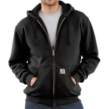 Carhartt Thermal-Lined Hooded Sweatshirt (For Tall Men) in Black - 2nds