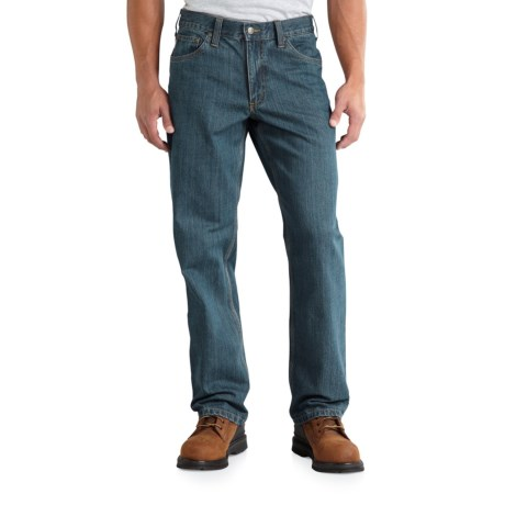Carhartt Tipton Jeans - Relaxed Fit, Straight Leg, Factory Seconds (For Men) in Classic Wash