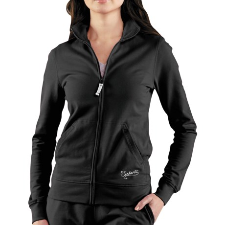 Carhartt Track Jacket - Full Zip (For Women) in Black