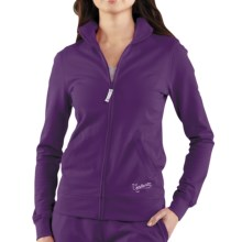 Carhartt Track Jacket - Full Zip (For Women) in Grape Seed - Closeouts